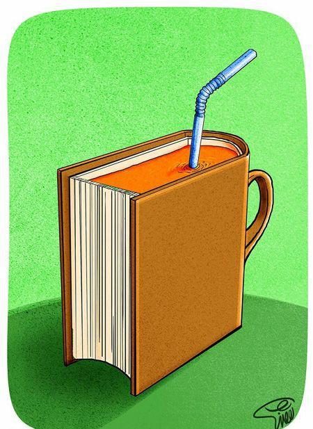 خوب بخوانید تا طعم واقعی کتابها را بچشید.